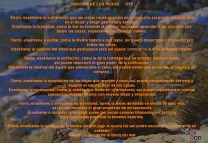 Oracion indios UTE madre tierra naturaleza