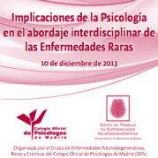 Díptico Jornada Psicología y  Enfermedades Raras- COP- 2013 3