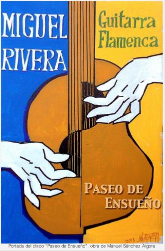portada disco Miguel Rivera Guitarrista