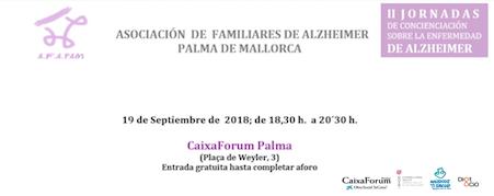 Cuidado emocional desde el claro-oscuro de la enfermedad. Conferencia Asociacion de familiares de Alzheimer Palma de Mayorca - AZAPAM-. CaixaForum Palma 19 Septiembre 2018