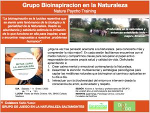 bioinspiracion BOSQUE ESCUELA SALTAMONTES Diotocio